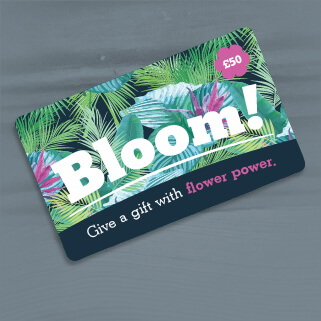 Bloom gift card