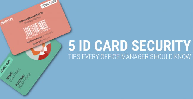 free ID card security tips every office manager should know