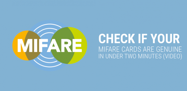 MIFARE cards test