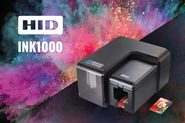 HID INK1000 - What is inkjet ID card printing?
