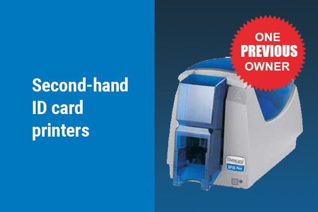 Second hand ID card printers