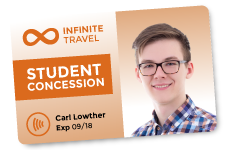 ID Card. Infinite Travel, Carl Lowther.