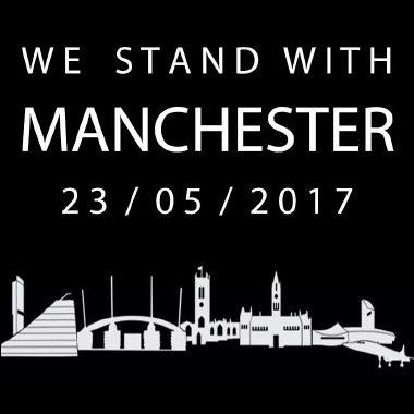 We Stand with Manchester 23/05/2017