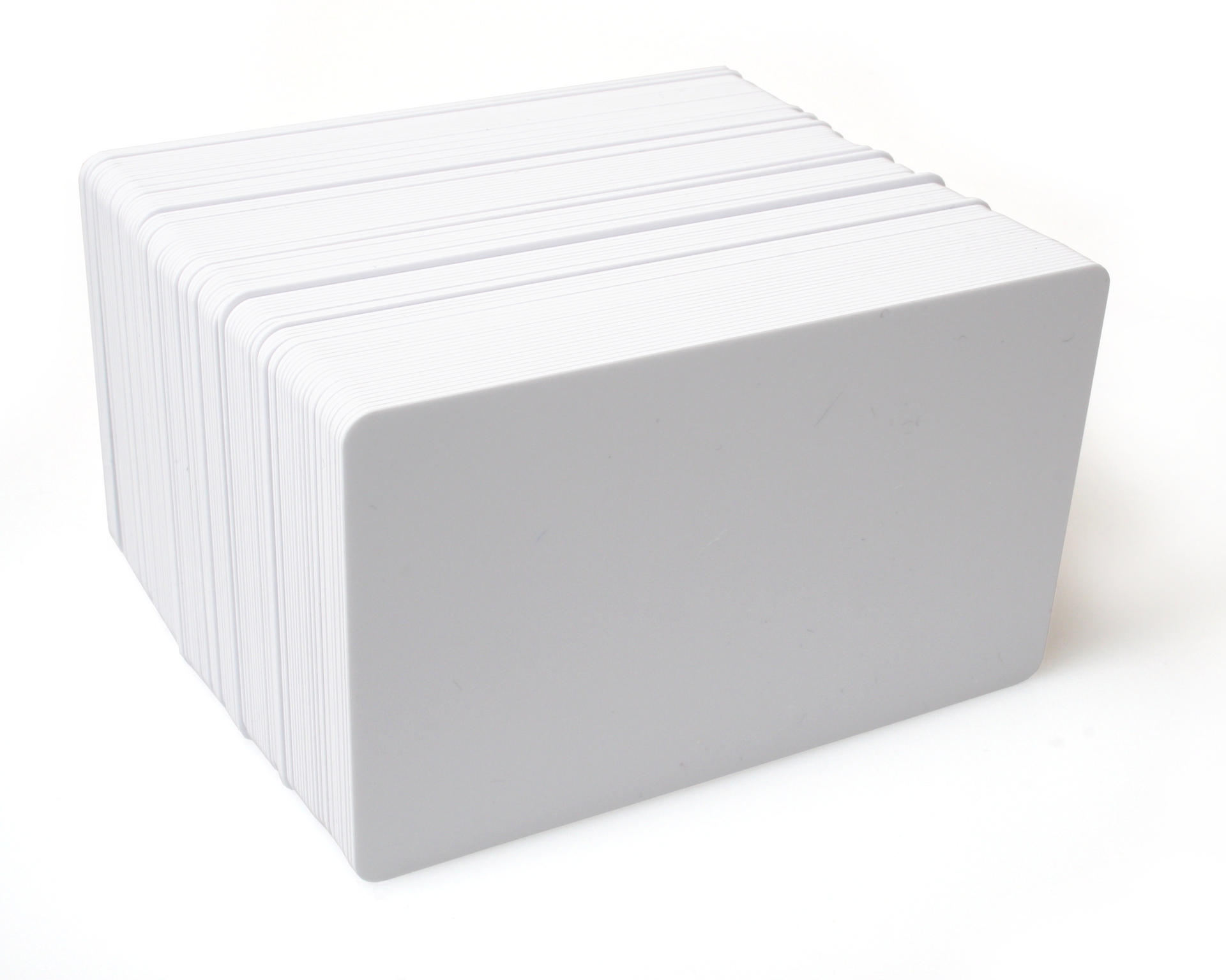 Dyestar Blank White Plastic Cards | Low Prices At Digital ID