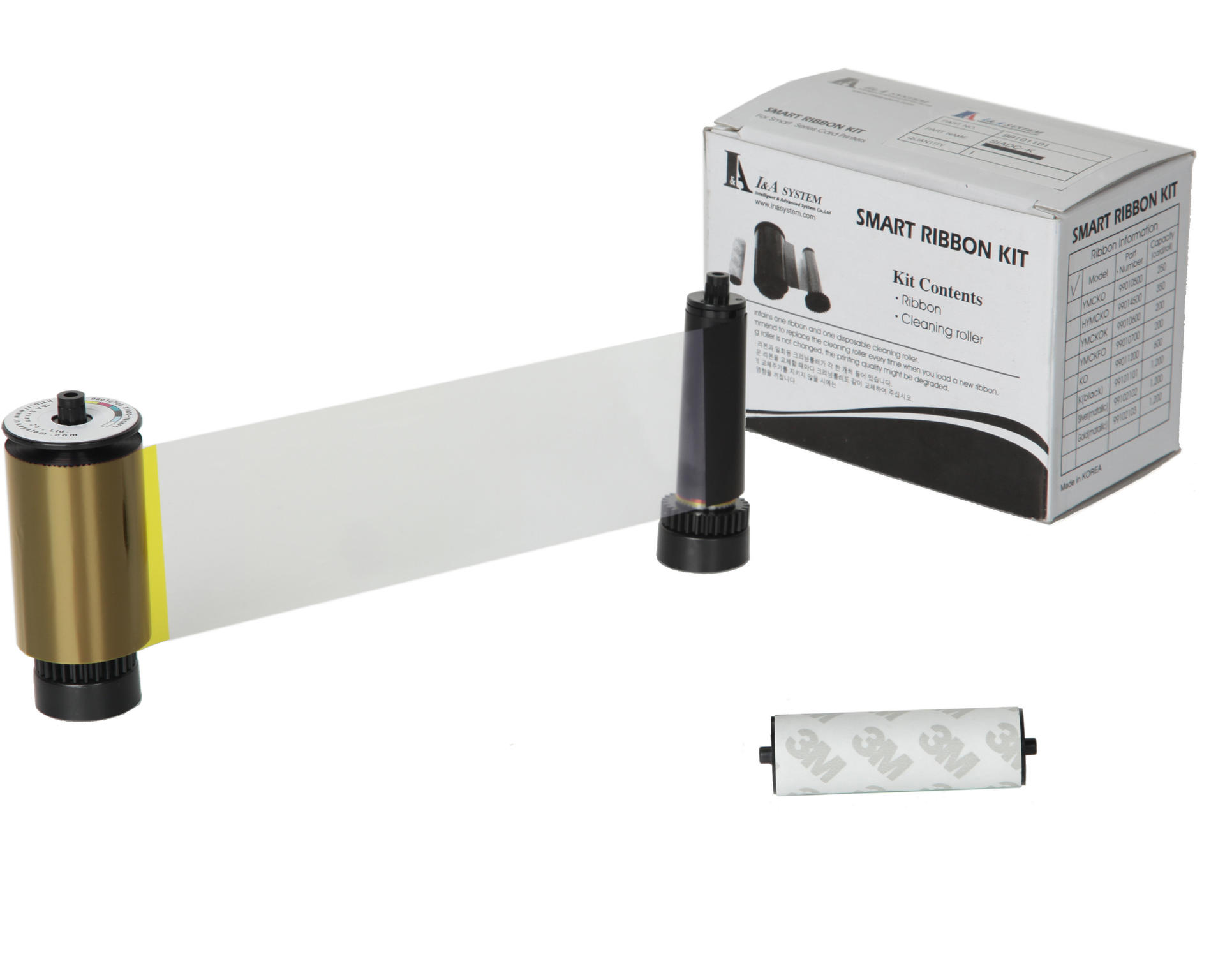 IDP Smart 659000 YMCKO UV Colour Ribbon (200 Prints)