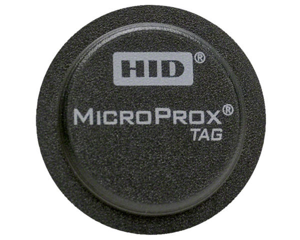 Pack of 100 HID MicroProx Tag Adhesive Proximity Disc - 1391