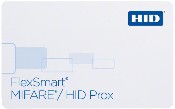 Pack of 100 HID Flexsmart Prox& MiFare Dual Technology Cards