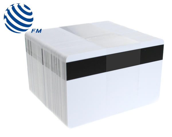 Fudan 1k Blank White Hi Co Magnetic Stripe Cards – Pack of 100