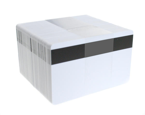 Pack of 100 Blank White MIFARE Classic 4k Cards with Hi-Co Mag Stripe