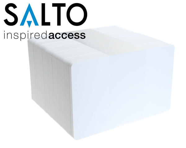 Pack of 100 Salto PCM04KB-50 4k Blank Contactless Smartcard
