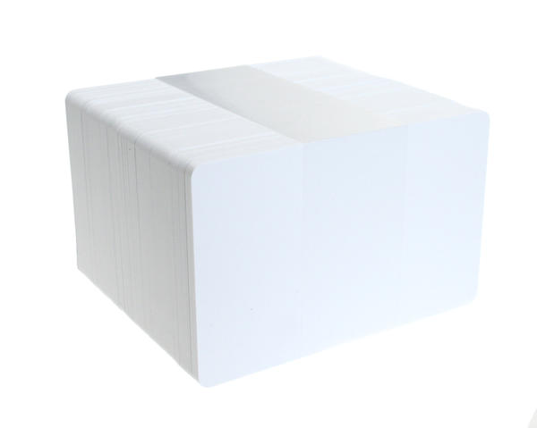 Pack of 100 I-Code SLI UID Blank White Cards, Storage 1024 Bytes (1KB)