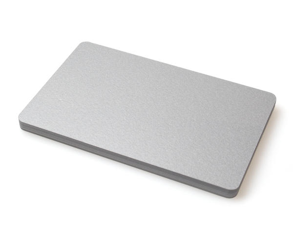 Premium Silver 420 Micron Cards - Pack of 100