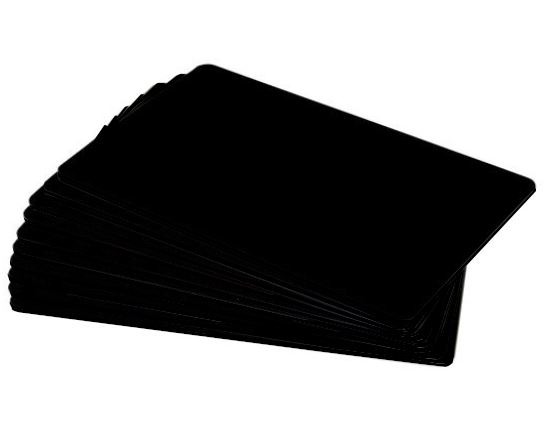 Black Matt Premium 760 Micron Cards - Pack of 100