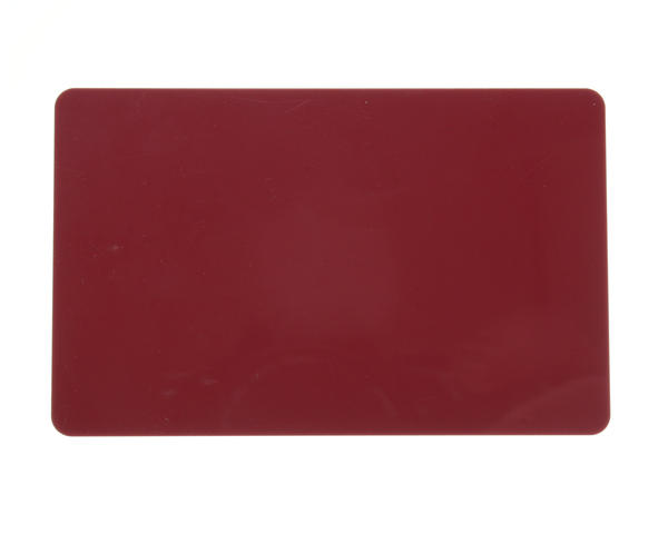 Pack of 100 Burgundy Premium 760 micron Cards