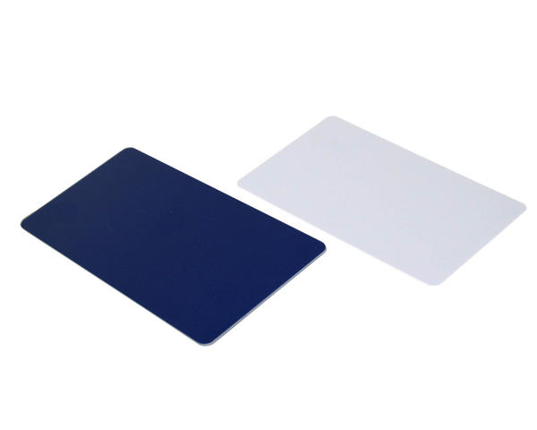 Pack of 100 Royal Blue/White Reverse Cards with Hi-Co Magnetic Stripe