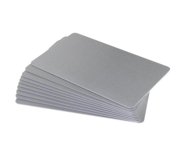 Pack of 100 Silver Premium 760 Micron Cards