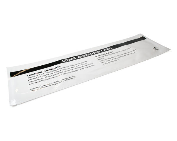 Long 330mm T-Shaped Isopropanol Cleaning Cards - Pack of 25