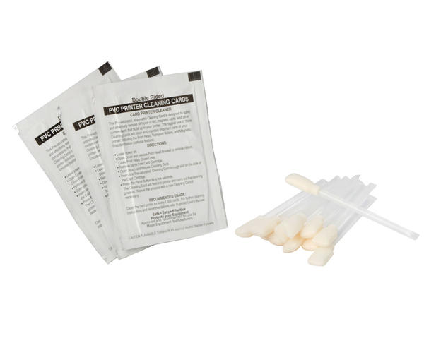 Zebra Premier Cleaning Kit 50 Cards & 25 Swabs 105909-169