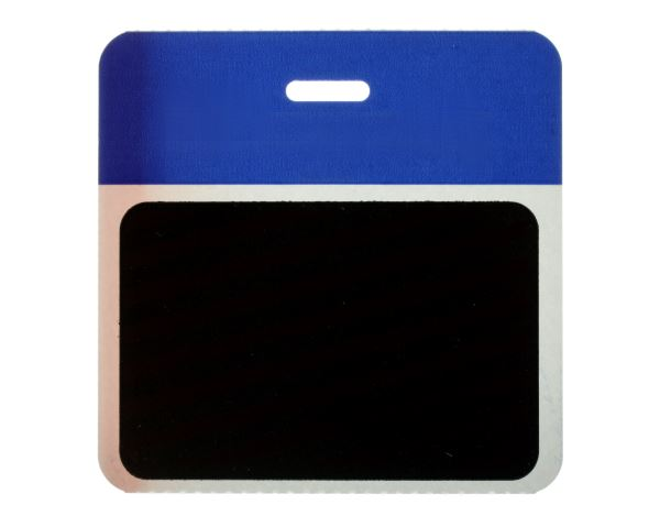 Pack of 1000 - TEMPBadge, Back Part, Employee (Blue) 9505916