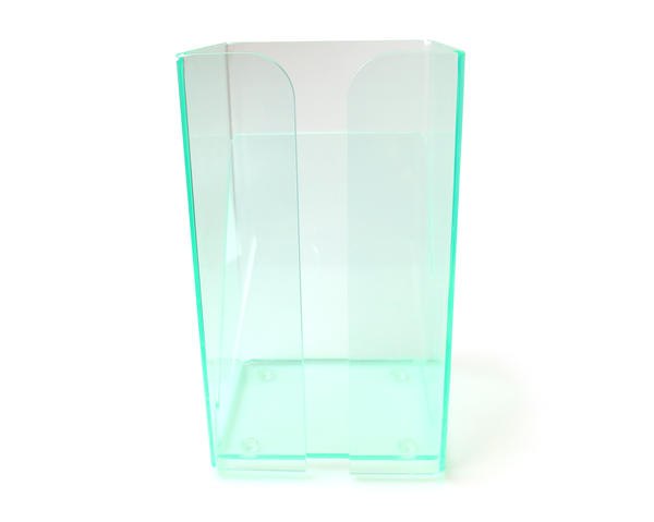 Visitor Pass Clear Plastic Wallet Storage Tower