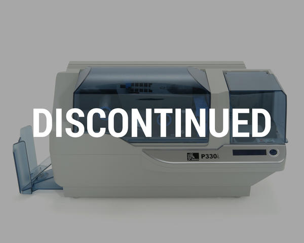 Zebra P330i Colour Single Sided Card Printer with USB P330i-I0000A-ID0 ** product to be discontinued from November 2013 **