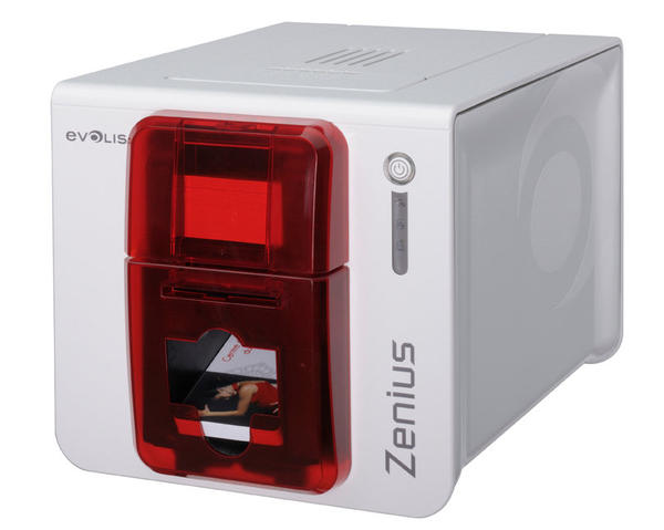 Evolis Zenius Classic Single-Sided Card Printer with USB ZN1U0000RS