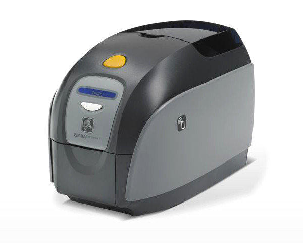 Zebra ZXP Series 1 Single Sided Plastic Card Printer, USB Z11-00000000EM00