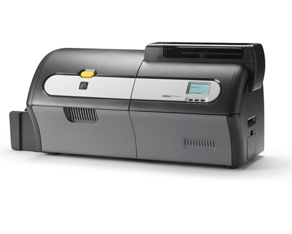 Zebra ZXP Series 7 Dual Sided Plastic Card Printer with USB and Ethernet - Z72-000C0000EM00