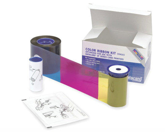 Datacard Colour Ribbon Kit, YMCK - 500 prints