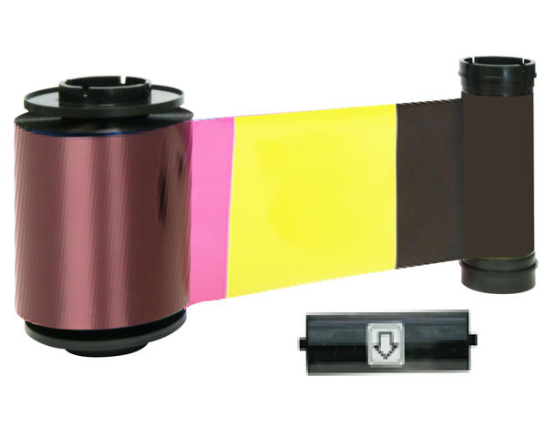 Smart 70 YMCKOK Full Colour 659113 Ribbon with Cleaning Roller – 500 Prints