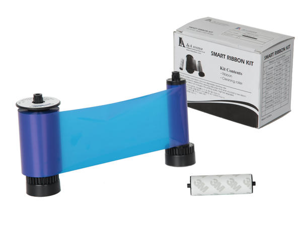 Smart Blue Mono Ribbon with Roller 1200print - 650665