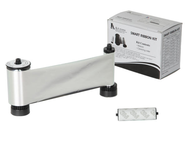Smart Metallic Silver Mono Ribbon Roller 1200print - 650681