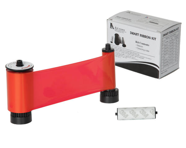 Smart Red Mono Ribbon with Roller 1200print - 650664
