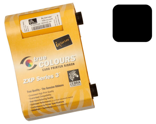 Zebra ZXP Series 3 Black Ribbon 800033-801 - 1000 prints
