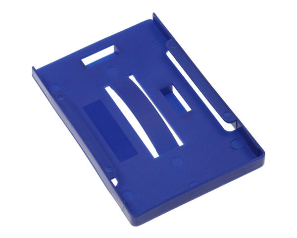 Pack of 100 Royal Blue Open Faced Rigid Multi Card Holders