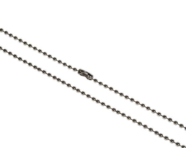 "Pack of 100 30"" Metal Bead Chain Necklace"