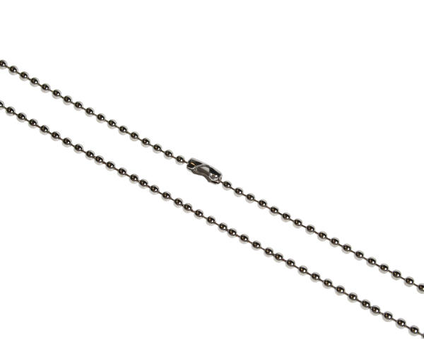 "Pack of 100 36"" Metal Bead Chain Necklace"