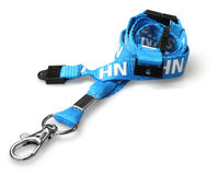 NHS Lanyards with Triple Breakaway and Trigger Clip - Pack of 100