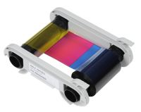 Evolis R5H004NAA YMCKO Half Panel Colour Ribbon (400 Prints)