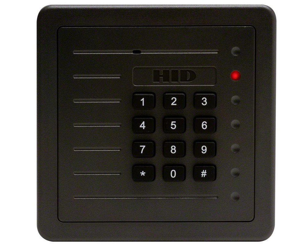 hid proxpro reader with keypad 5355agk00. Black Bedroom Furniture Sets. Home Design Ideas