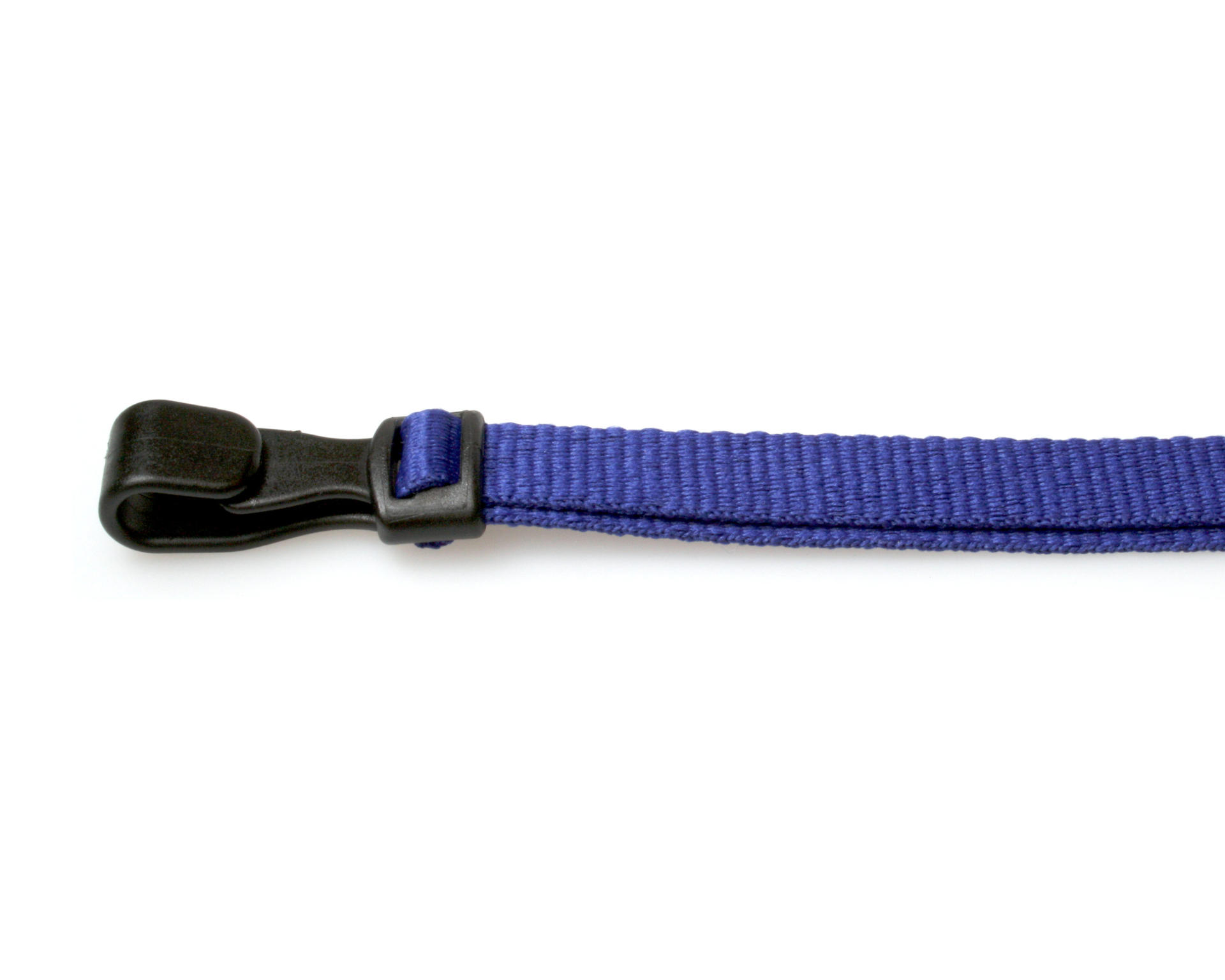 Navy Blue Lanyards With Breakaway And Plastic J Clip