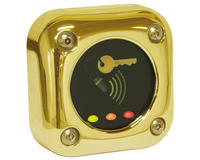 Paxton Proximity Metal Reader, Brass